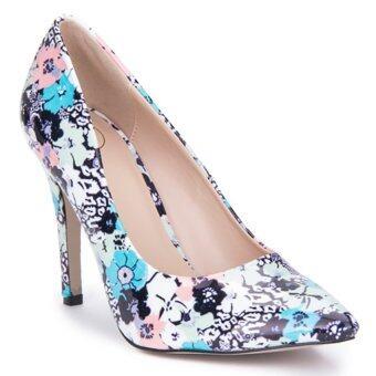 LZD Pointy Heel Pumps (Multicolor)