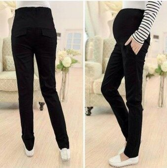 Harga Maternity Long Pants - Working Black