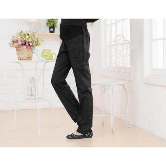 Harga Maternity Pants - Black Straight Cut