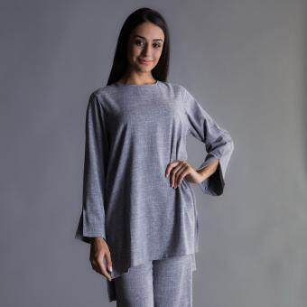 Harga MC Vogue Plain Grey Top