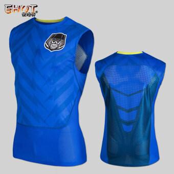 405da433003 Shopping Men kb running fitness camouflage 24 basketball short-sleeved slim  fit clothing (Blue skull) in Malaysia