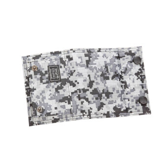 Men Teenage Boys Students Premium Oxford Camouflage Flap Wallet Tri-Fold Zip Coin Purse Money Clip Wallet Stunning Card Holder Bag-Camouflage C - 3