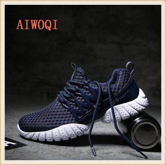 Harga Men Women Unisex Couple Casual Fashion CasualSneakers BreathableAthletic Sports Running Shoes AIWOQI
