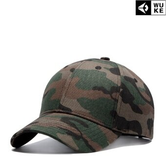 Harga Men women's outdoor camouflage cap fashion baseball cap