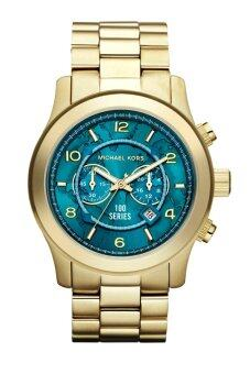 Harga Michael Kors Hunger Stop Oversized 100 Series Unisex Watch MK8315