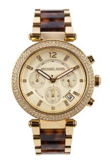 Michael Kors Women's Gold Stainless Steel Band Watch MK5688