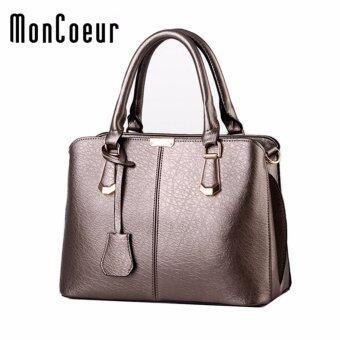 MonCoeur 002 Woman Premium PU leather Handbag (Bronze)