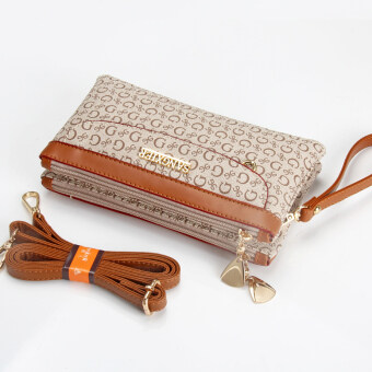 Harga Mother messenger small bag clutch bag (Double letter e)