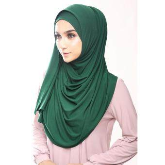 Mumuscarves Jameela Instant (Emerald Green)