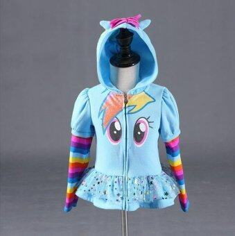 Harga My little pony girls blue coats