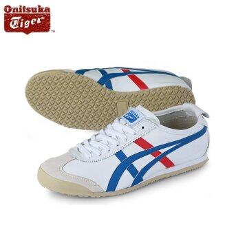 brand new ed3d8 39848 Review Onitsuka Tiger Mexico66 White Blue Dl408_0146 100 ...