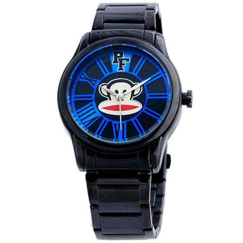 Paul Frank Mens Black Stainless Steel Band Watch PFFR1226-01D Malaysia