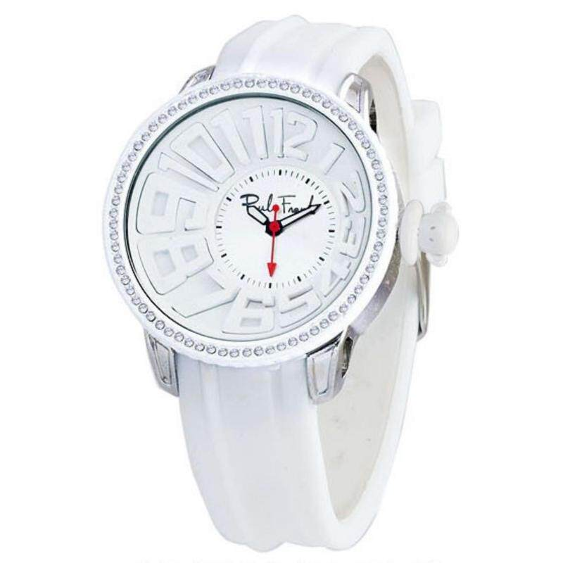 Paul Frank Mens White Silicone Strap Watch PFFR965-01C Malaysia
