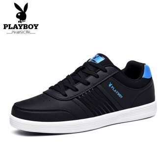 Harga PLAYBOY Korean-style men BayMini shoes men's shoes (Black) in Malaysia