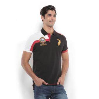 Harga Polo Haus - Polo Tee (Black/Red)