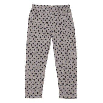 PONEY ALL-OVER STAR PRINT LEGGING (GREY)
