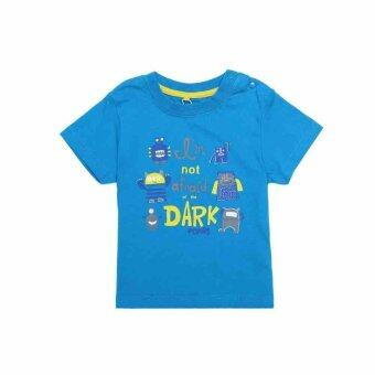 Harga PONEY LITTLE MONSTERS GRAPHIC PRINT TEE (BLUE)