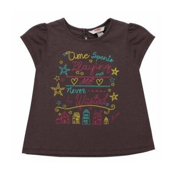 Harga PONEY LITTLE STORY GRAPHIC PRINT TEE (BROWN)