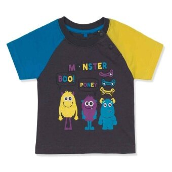 Harga PONEY MONSTER FRIENDS GRAPHIC PRINT TEE (GREY)