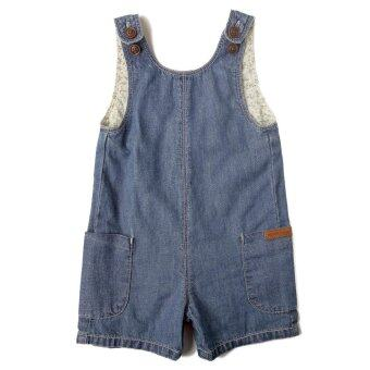 Harga PONEY SIDE POCKETS DENIM JUMPSUIT (DENIM)