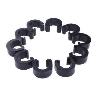 Quality 10pcs Jagwire C-Clip Cable Housing Hose Guide For MTB BikeBicycle Black New - 2