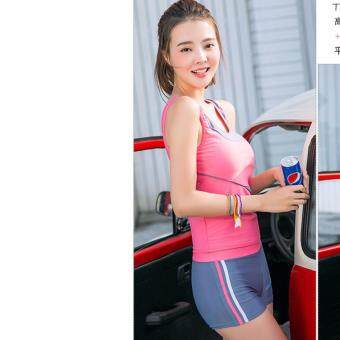 Harga ?Ready Stock -NEW- Fast Delivery?Korean Fashion Swim Wear Swimsuit 2pcs Sets - 850224SWPC ( PINK )