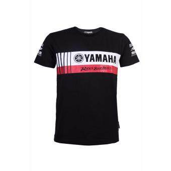 Harga Roundneck T Yamaha REV YOUR HEART 2017 HLY (Black)