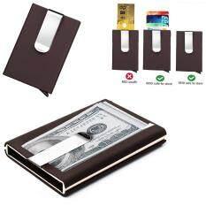 ... Bllevie Rfid Wallet Money Clip Mens Leather Slim Blocking Credit Source OEM Men Card Holders price