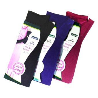 Harga Semlouis Aurat Handsock with Thumb Cotton 3 in 1 (Mix)