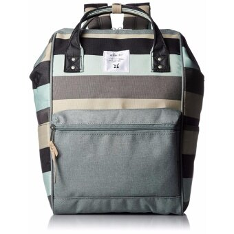 ?Ship from Japan?Anello multi-border backpack AT-B1941 B