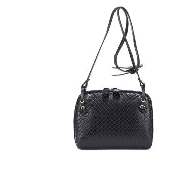 SoKaNo Trendz Crossbody Knitted Bag- Black