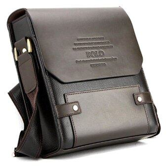 Sokano Trendz Premium Polo Men Messenger Bag - Brown