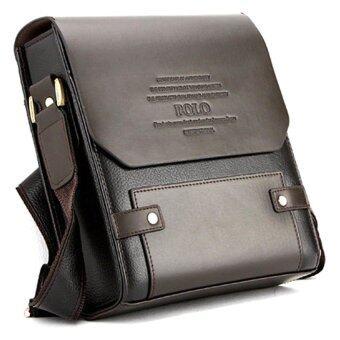 Sokano Trendz Premium Polo Men Messenger Bag - Brown
