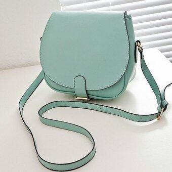 SoKaNo Trendz PU Leather SKN615 Crossbody Bag- Green