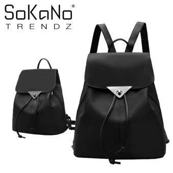 SoKaNo Trendz SKN757 Premium Nylon Drawstring Style Double Straps Backpack