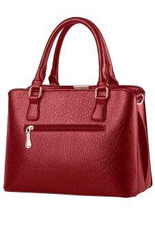SoKaNo Trendz SKN802 Premium PU Leather Bag- Red