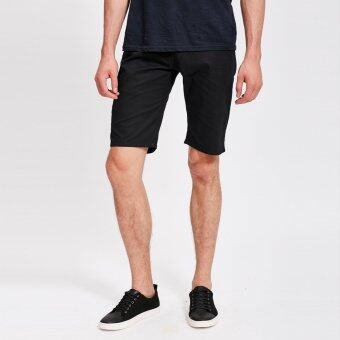 Harga Stitch chino shorts (Black)