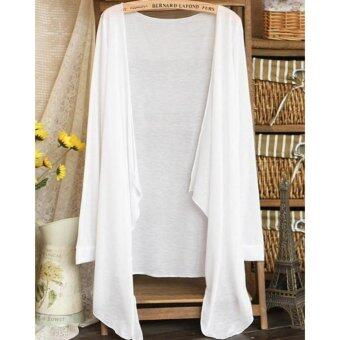 Harga Summer Thin Cardigan 2017 Summer Wear-White