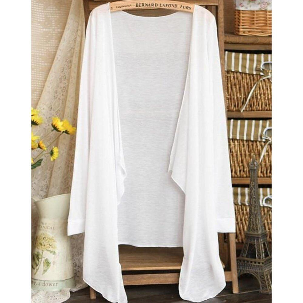 Summer Thin Cardigan 2017 Summer Wear-White | Lazada Malaysia