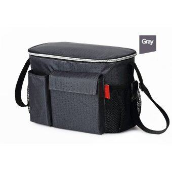 Harga Thermal Insulation Mommy Bags Waterproof Baby Diaper Bag StrollerCooler Bag For Stroller Black