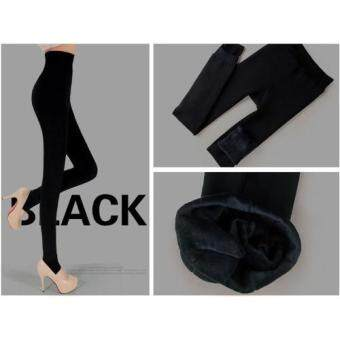 Harga Thick Winter legging / Pants - Black