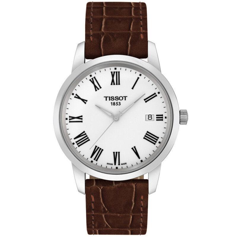 Tissot Classic Dream T033.410.16.013.01 Quartz Leather strap Mens Watch Malaysia