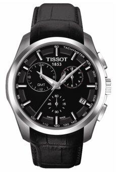 Tissot Couturier T035.439.16.051.00 Quartz GMT Men's Watch
