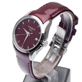 Tissot Red Leather strap Watch Tissot T035.210.16.371.00 - 3