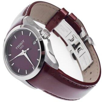 Tissot Red Leather strap Watch Tissot T035.210.16.371.00 - 5