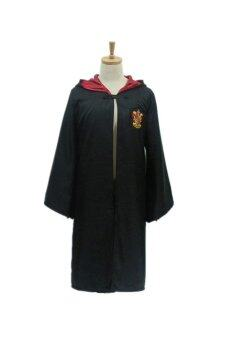 Ufosuit Harry Potter Gryffindor Cape (Black/Red)