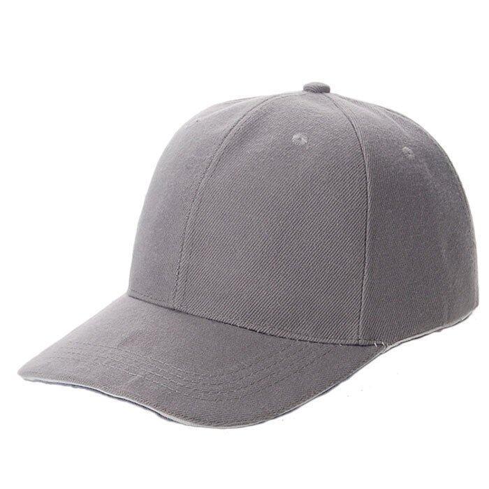 plain white baseball caps bulk uk unisex sport cap blank curved visor hat grey where to buy a