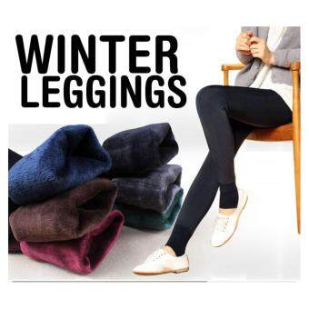 Harga Women Winter Leggings / keep warm/ inner wear/ Women pants /Plus size - Grey