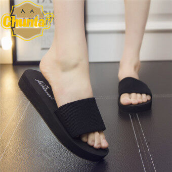 Sell Women 39 S Korean Style Casual Platform Slip On Sandal