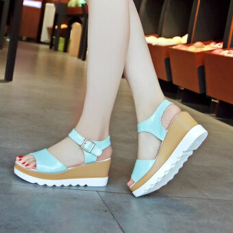 Sell Women 39 S Korean Style Cute Platform Middle Heel Sandal